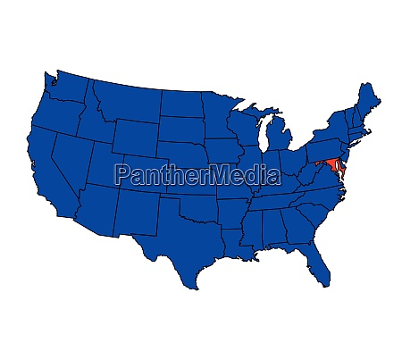 state of maryland location