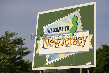 welcome to new jersey highway message