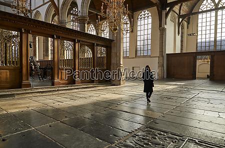 interior, of, oude, kerk, (old, church), - 27083956