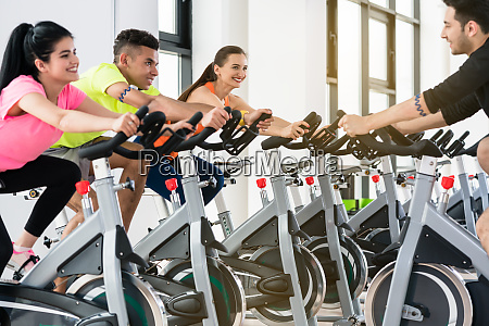 friends in gym