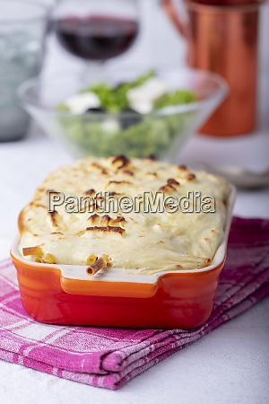 pastitsio casserole baked cooking greek bechamel