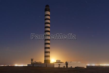 lighthouse in dakhla morocco