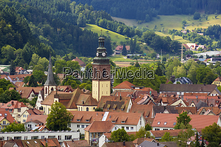 view of haslach in black forest