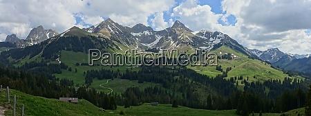 landscape in switzerland bernese oberland