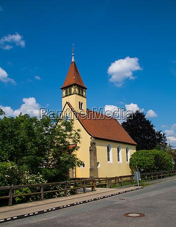 little chapel called marienkirche in the