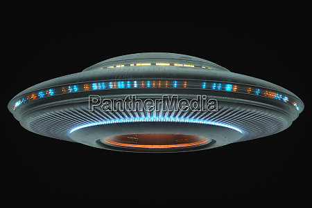 unidentified flying object space clipping path