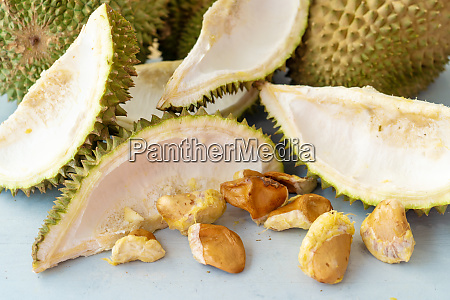 left over durian