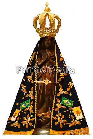lady saint aparecida catholic brazilian