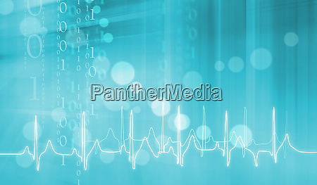 digital abstract medical background concept series