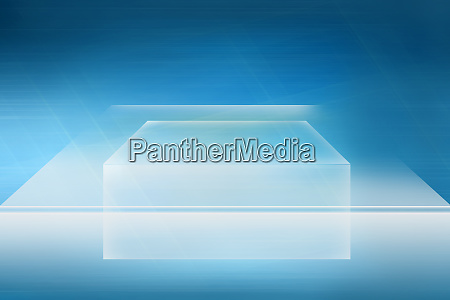 empty transparent countertop background for product