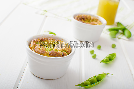 peas souffle