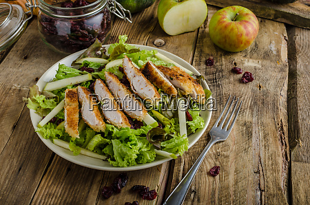 waldort salad with grilled chicken