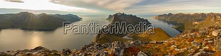scenic views on the lofoten islands