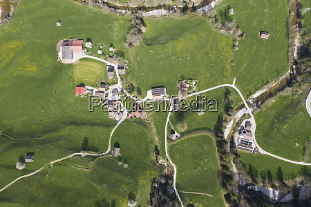 aerial view of necker canton of