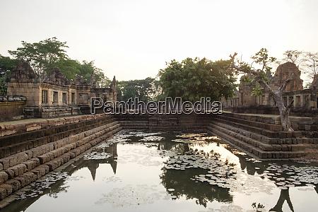 thailand buriram province khmer temple prasat