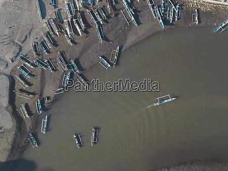 boats at river maluk west sumbawa