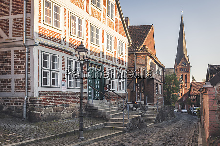 half timbered houses and mary magdalene