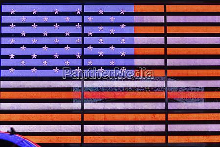 digital flag of the united states
