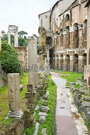 theatre of marcellus rome italy