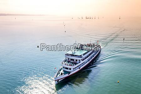 excursion boat on lake constance friedrichshafen