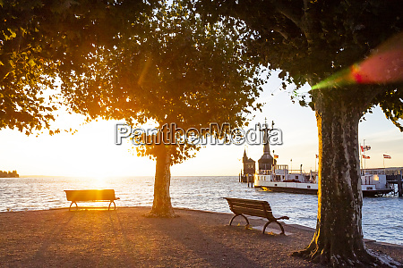 constance harbor lake constance germany