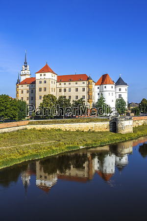 hartenfels castle torgau germany
