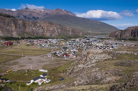 panorama of el chalten los glaciares