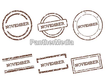 november stamps