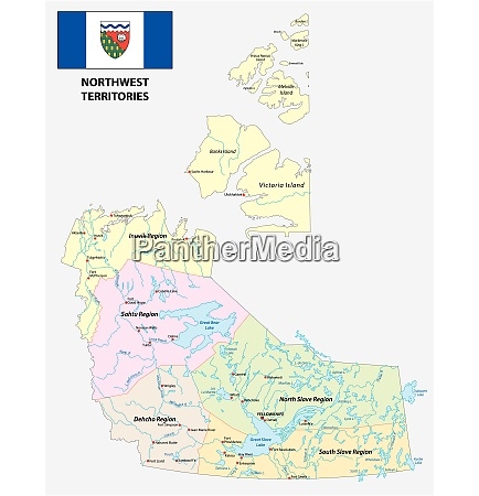 northwest territories political and administrative regions