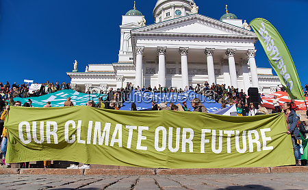 march and demonstration against climate change