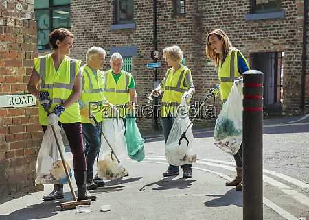 cleaning the city