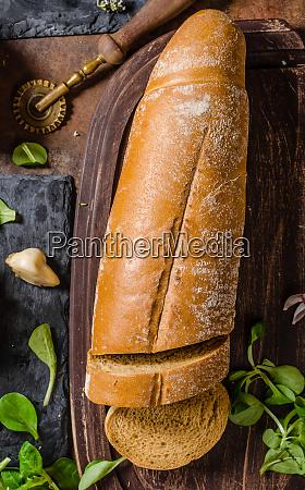 rustic bread homemade