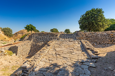 ruins of ancient legendary city of