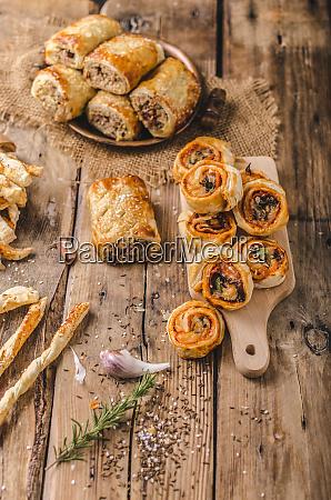 sticks puff pastry