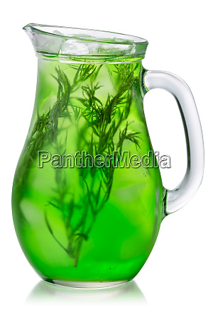 tarragon drink iced jug paths