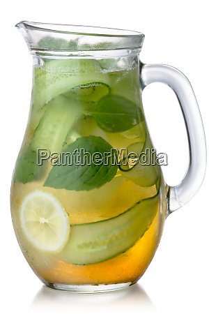 cucumber basil lemonade jug paths