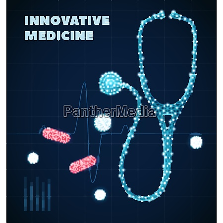 innovative medicine poster with healthcare industry