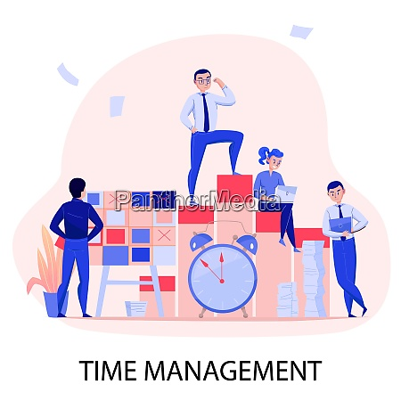 time management successful teamwork deadline stress