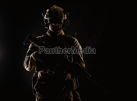 army special forces soldier low key