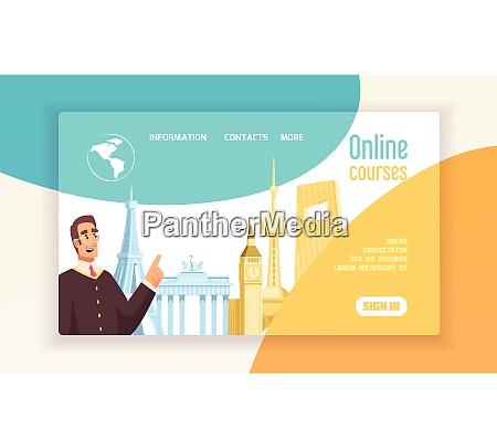 language center online courses info flat