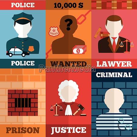 crime and punishment mini poster set