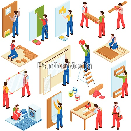 home repair renovation remodeling service workers