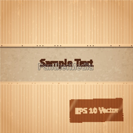 abstract paper cardboard background template vector
