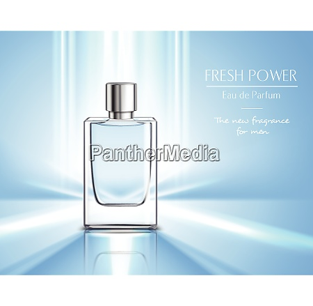 new fragrance for men perfume poster