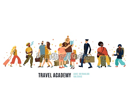 travel academy concept with travel advice