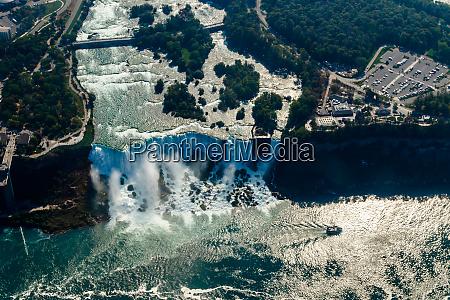 fantastic aerial views of the niagara