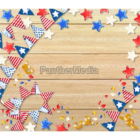 independence day celebrating design composition with