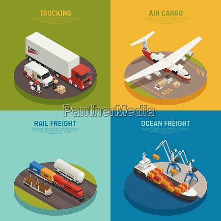cargo transportation including ocean and rail