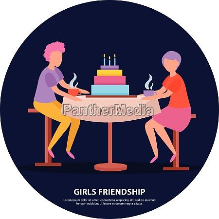 grown up girlfriends birthday party night