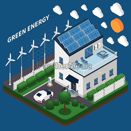 green energy generation for household consumption
